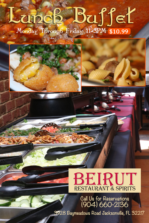 Beiirut Buffet Weekdays